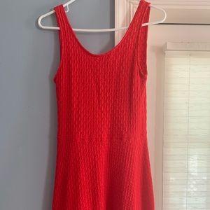 Dresses & Skirts - Red skater dress